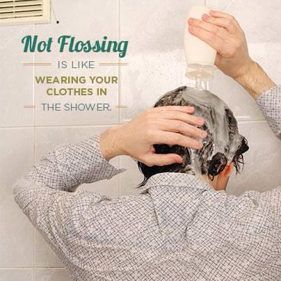 flossing.shower